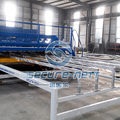 China Reinforced Rebar Mesh Welded Machine Exporter