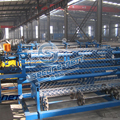 Steel Wire Mesh Chain Link Fence Weaving Machine