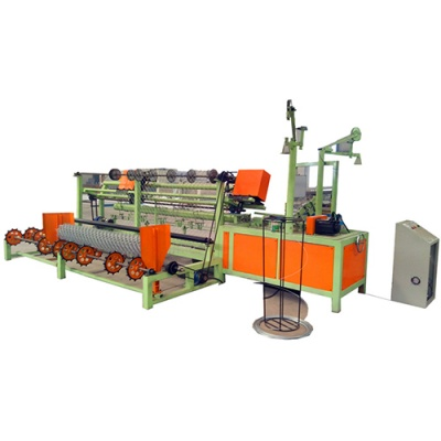 PLC Control Chain Link Fence Machine