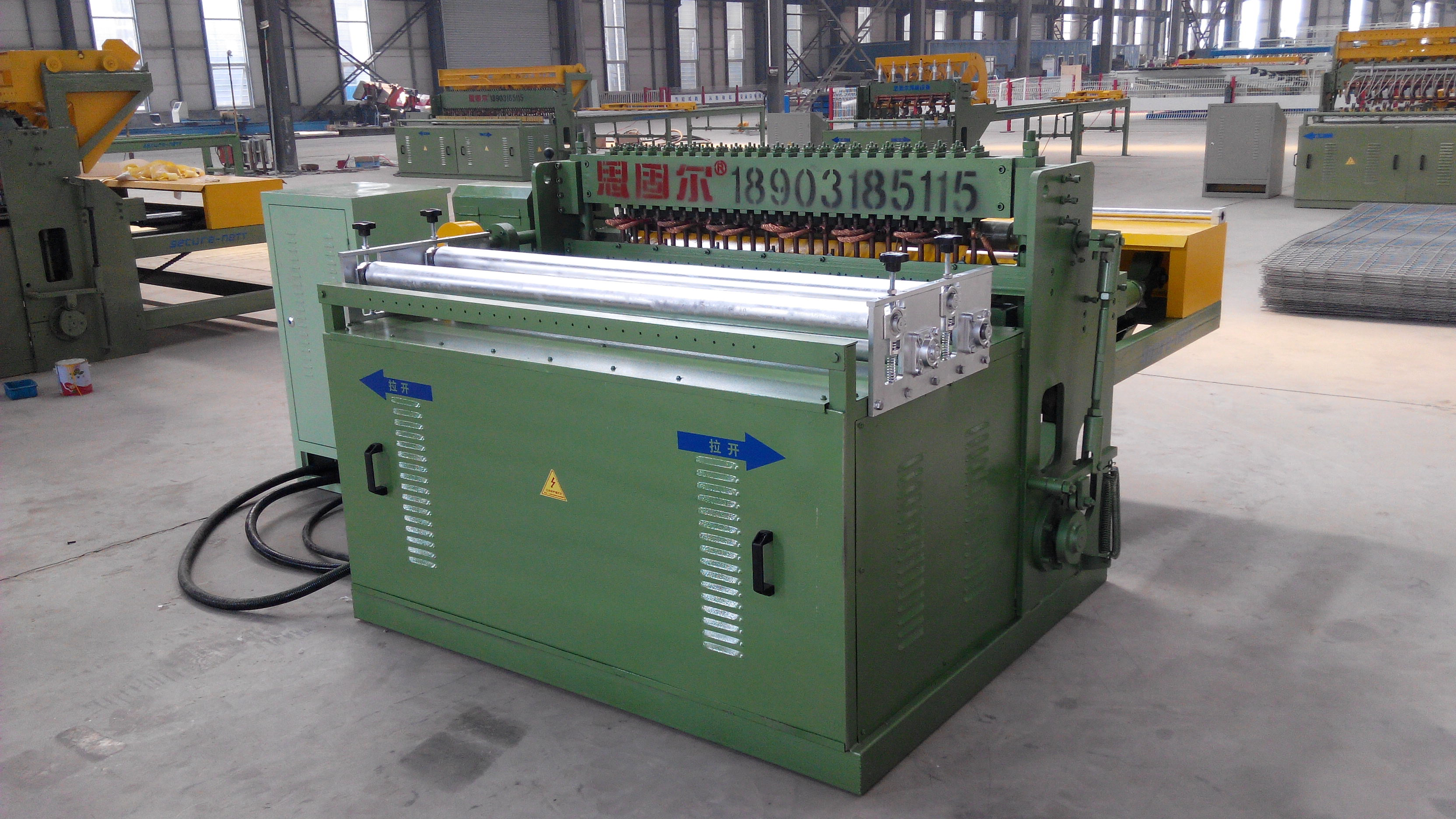 Automatic building wire mesh welding machine