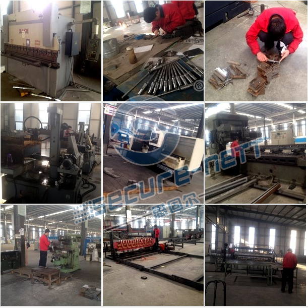 CNC reinforcing stainless steel mesh welding machine